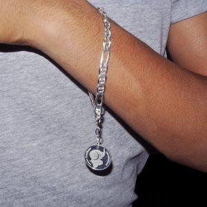 Lucky Elephant Silver Bracelet