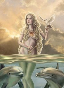 Aphrodite with Dolphins