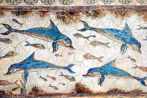 Dophin Fresco 1600BC Greece