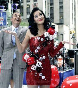 Katy Perry Dice Costume