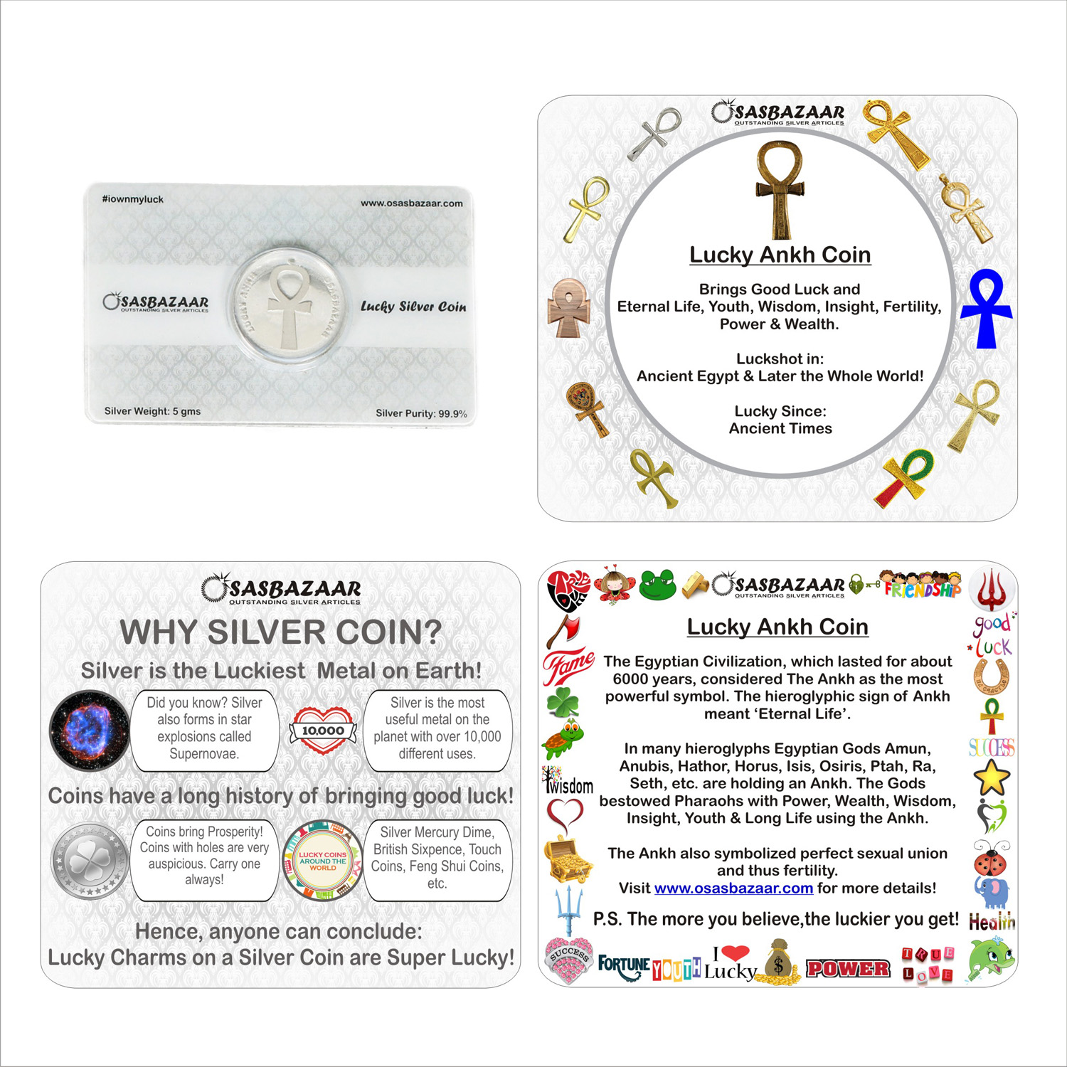 Why Silver Lucky Ankh is Lucky?