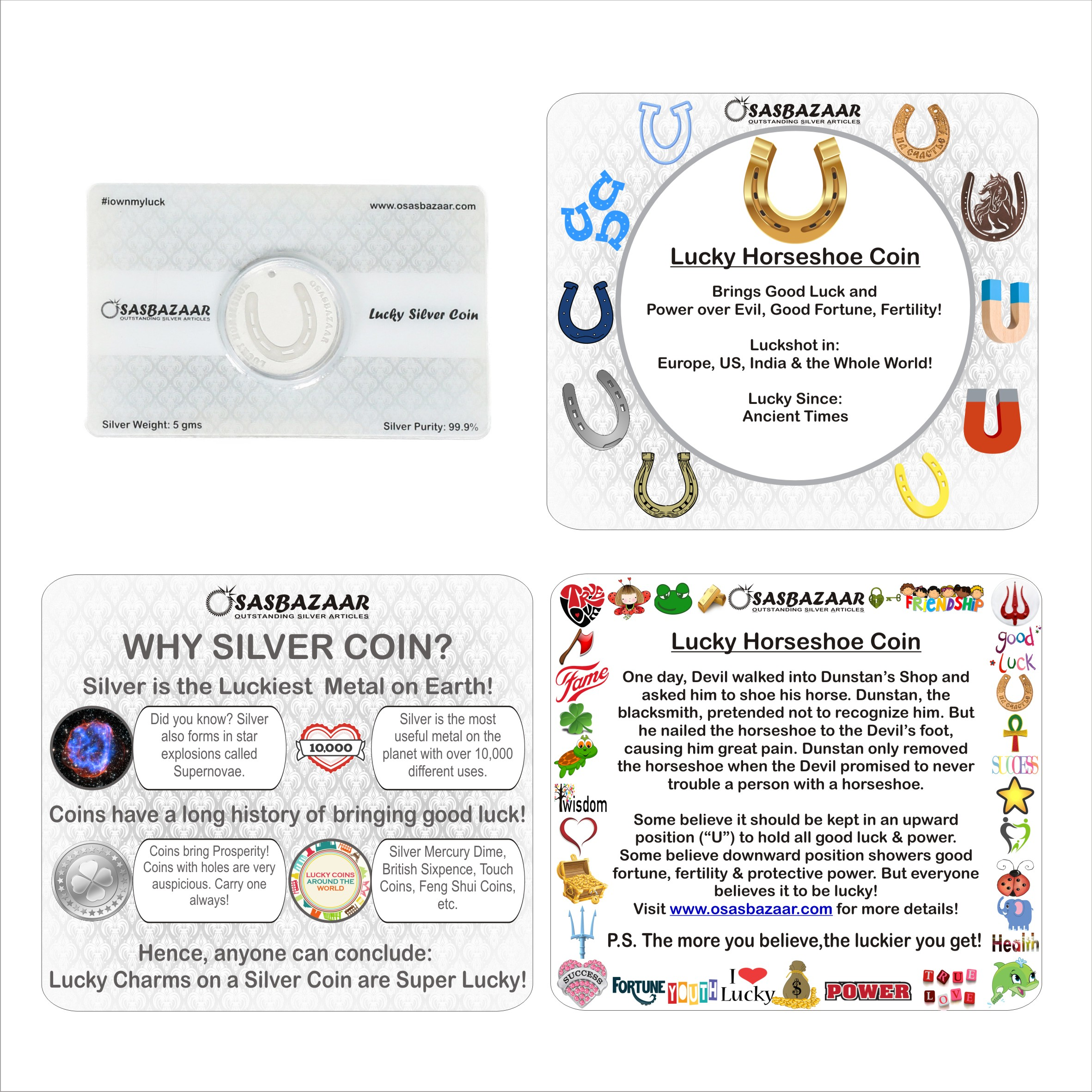 Why Silver Horseshoe is Lucky?