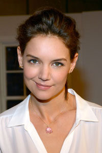 Actress Katie Holmes wearing an Elephant Pendant