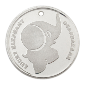 Silver Lucky Elephant Coin has many Powers of Luck!