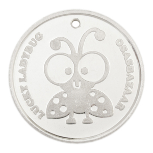 Silver Lucky Ladybug Coin has many Powers of Luck!