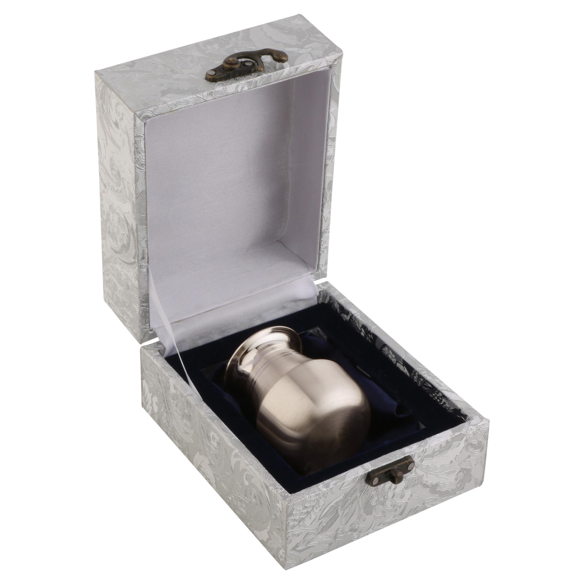 Kalash Long in Silver by Osasbazaar Packaging