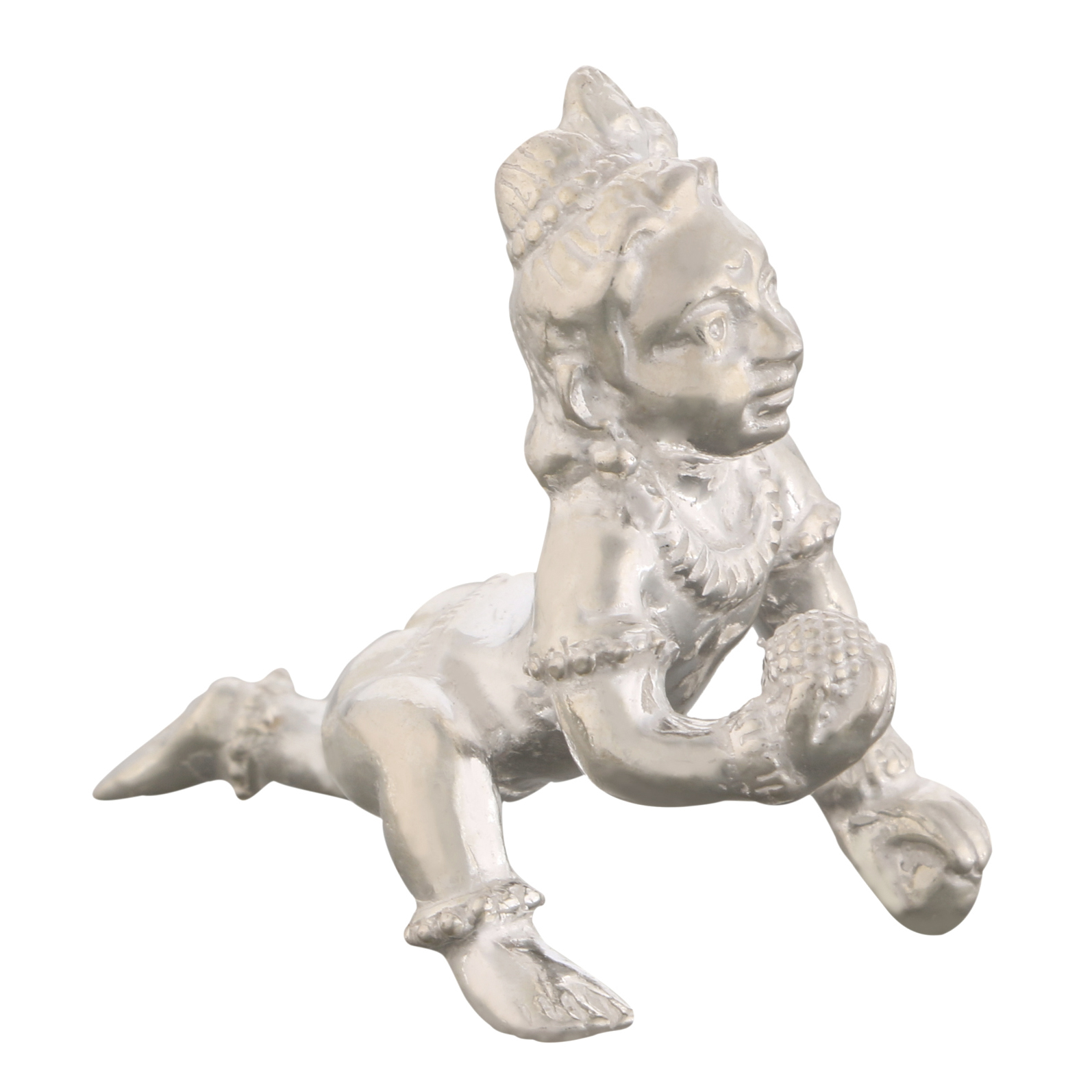 Laddu Gopal Balkrishna in Silver by Osasbazaar Main