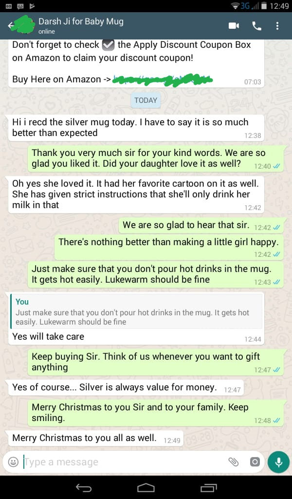 Osasbazaar Christmas Gift Story whatsapp