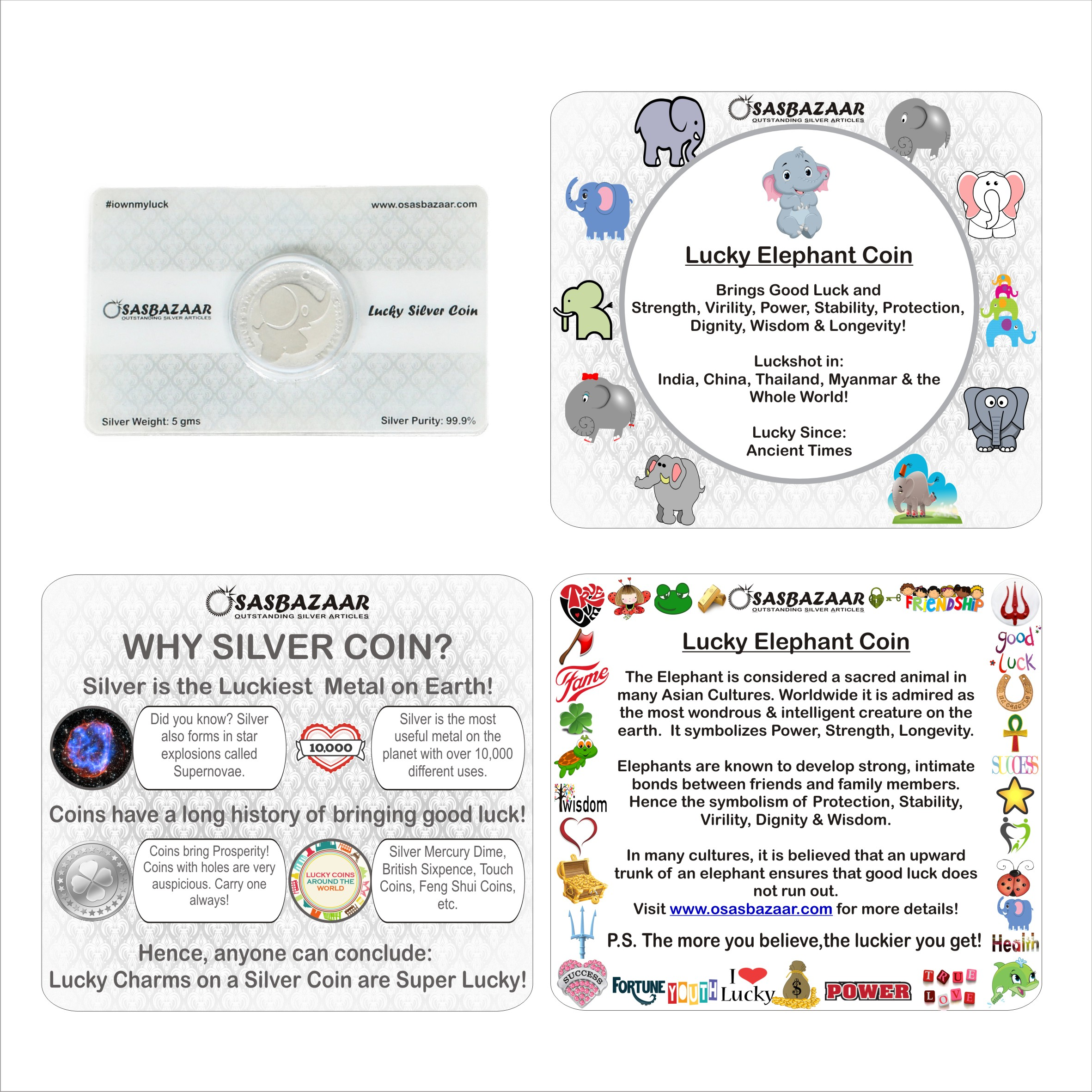 Why is Silver Elephant Coin Lucky?