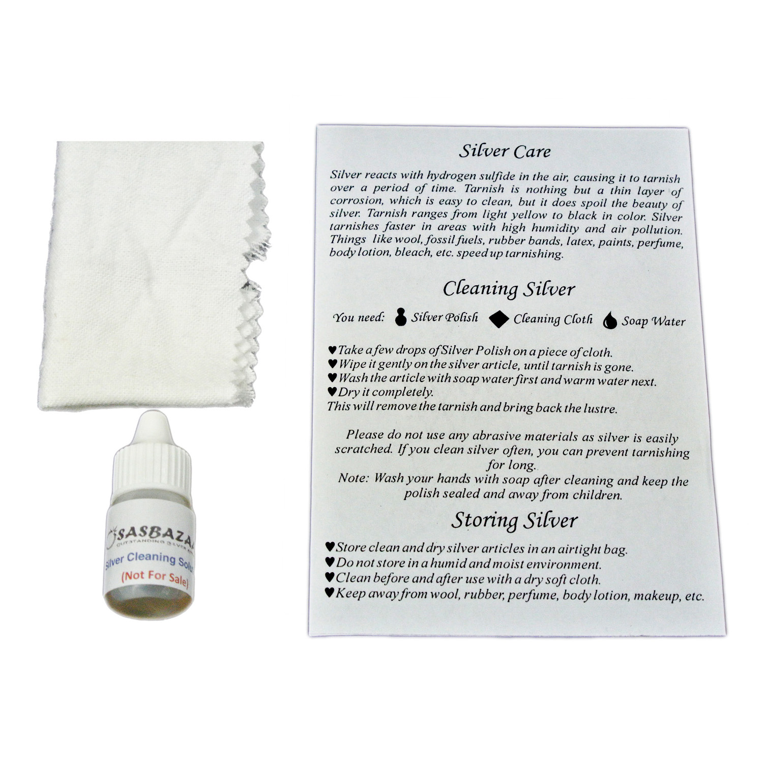 Osasbazaar Free Silver Care Kit