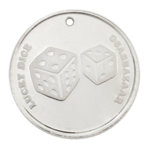 Silver Lucky 7 Dice has many Powers of Luck!