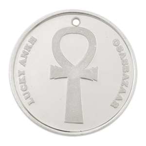 Silver Lucky Ankh Coin has many Powers of Luck!