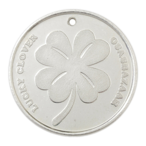 Silver Lucky Clover Coin has many Powers of Luck!