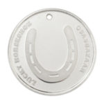 Lucky Horseshoe Silver Coin