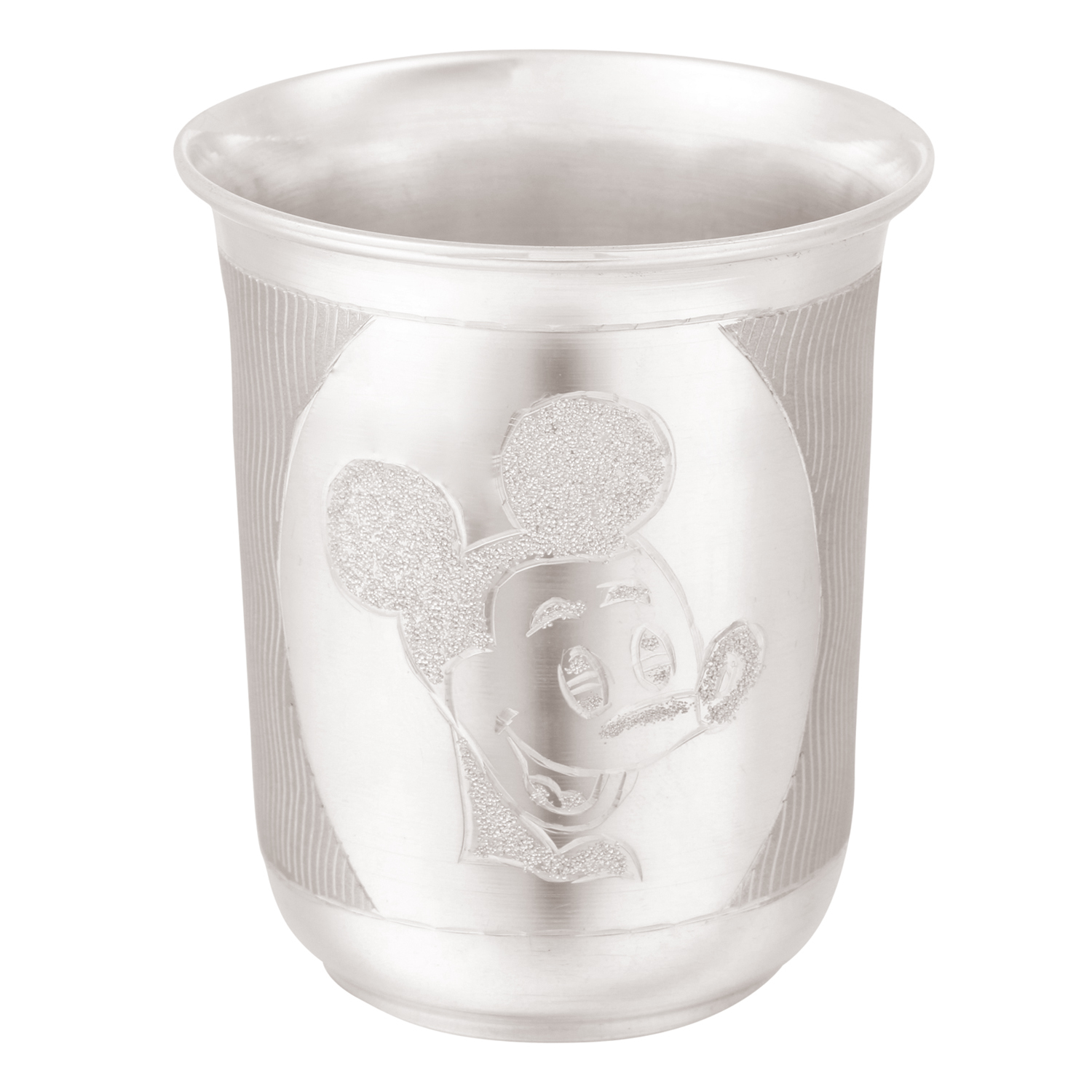 Osasbazaar Sterling Silver Baby Glass - Mickey Mouse Design - Main