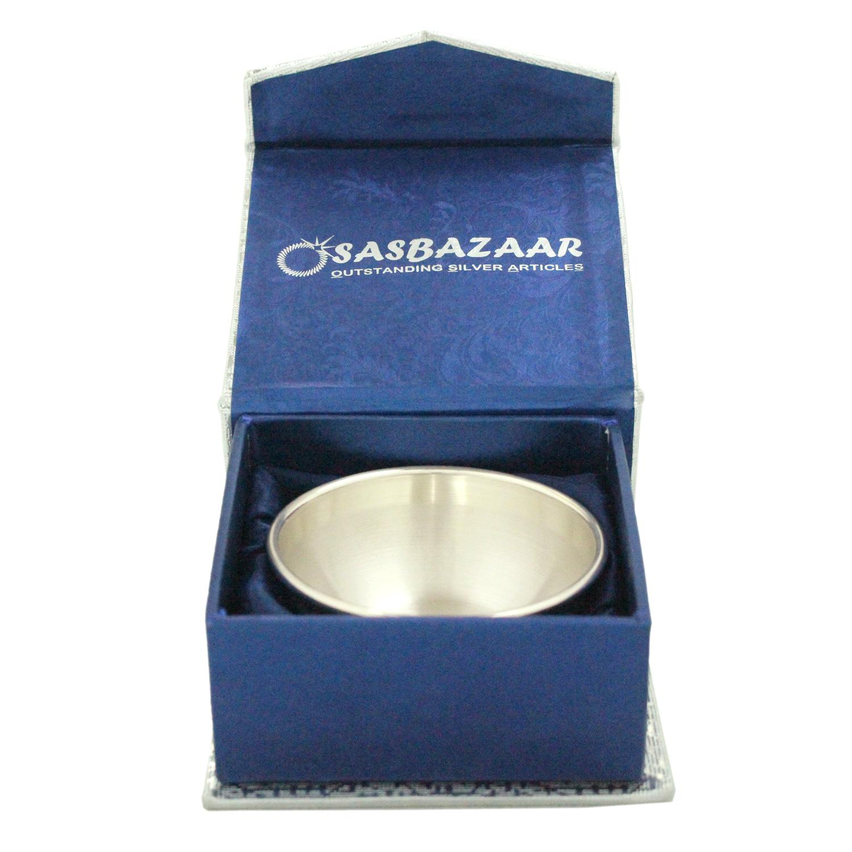 Bowl 50ml in Silver by Osasbazaar Packaging