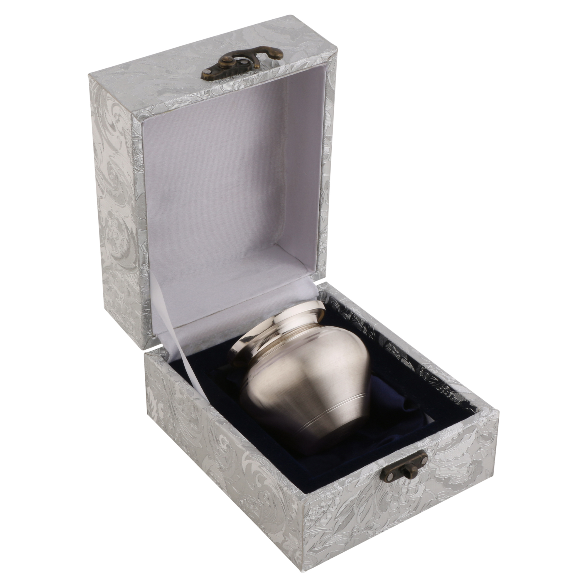 Kalash Small in Silver by Osasbazaar Packaging