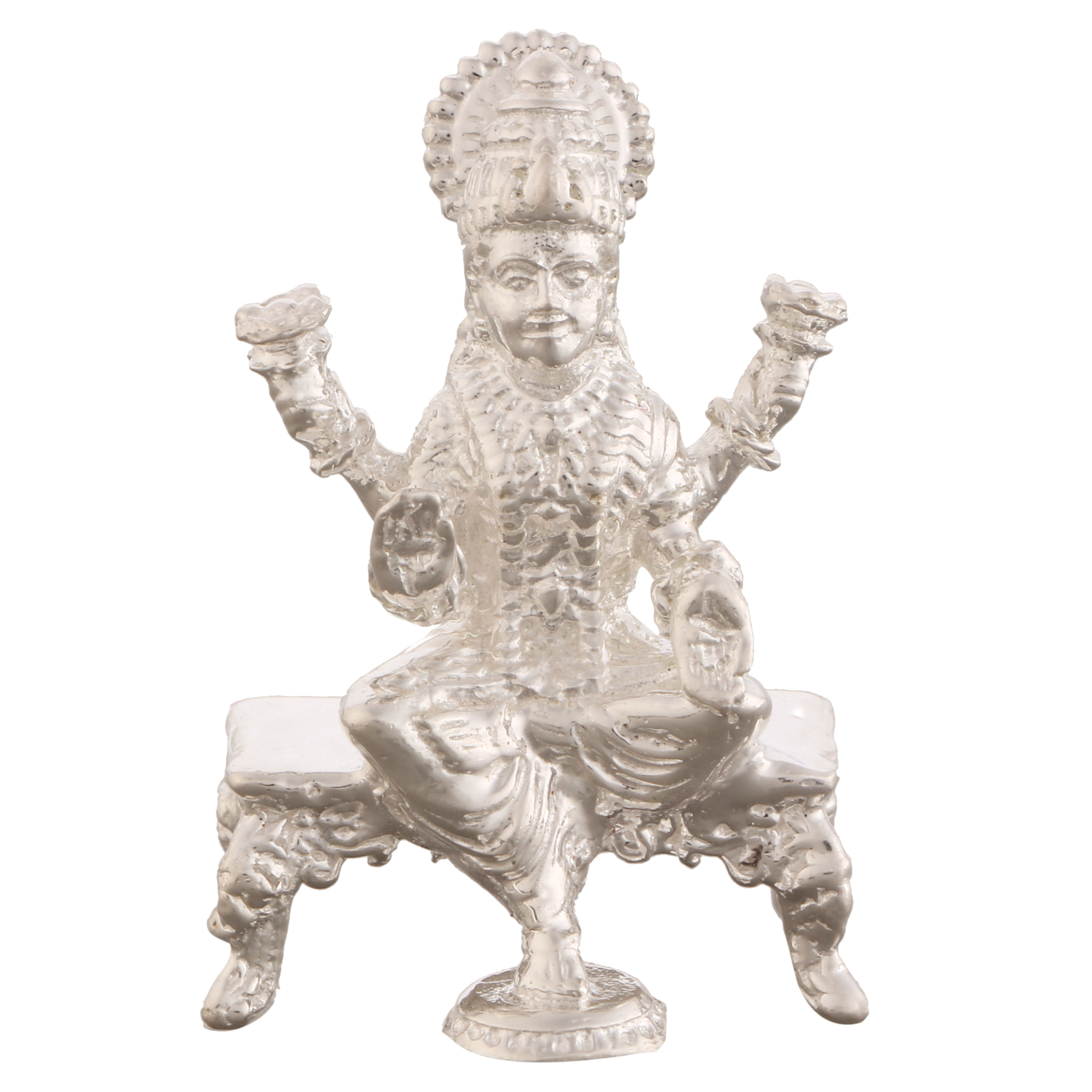 Laxmi ji in Silver by Osasbazaar Main