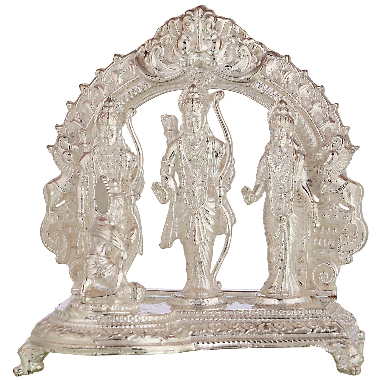 Ramdarbar in Silver by Osasbazaar Front