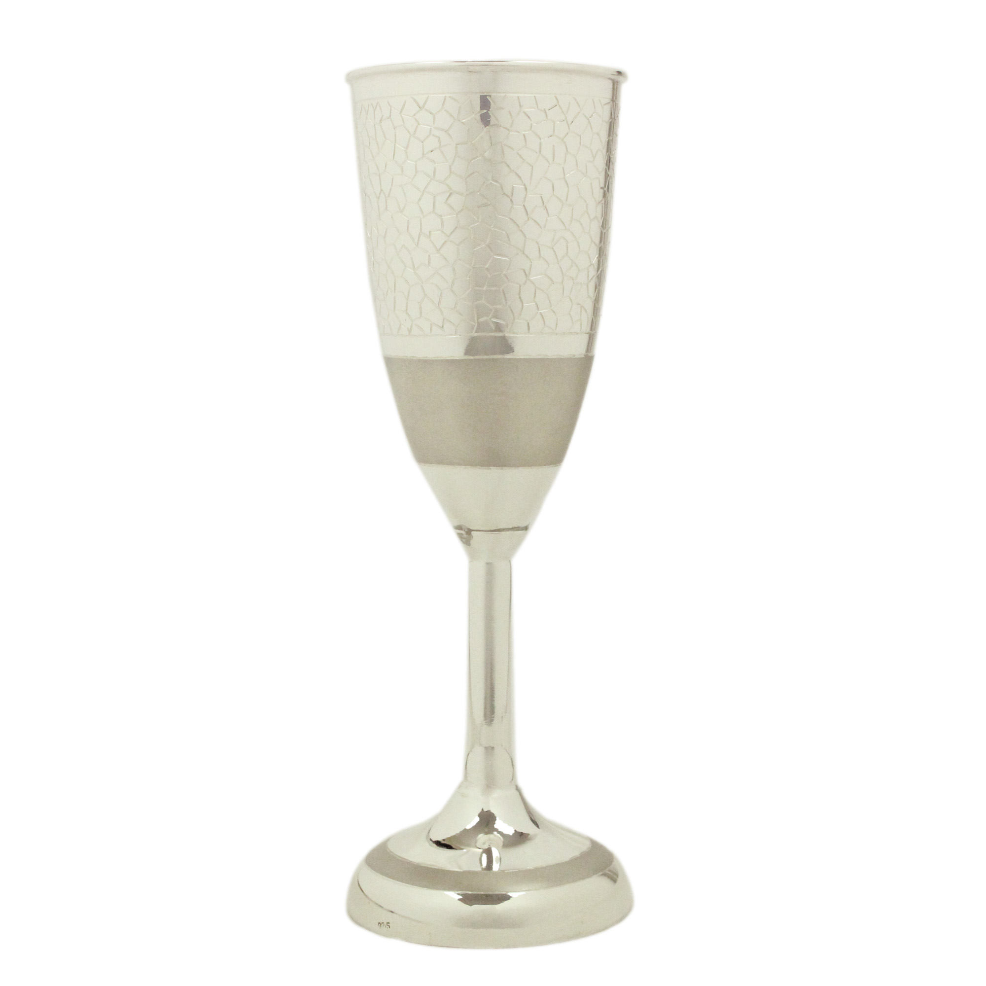 Wine Glass in Silver by Osasbazaar Main
