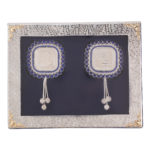 Silver Coin with Designer Packing Square - Pack of 2