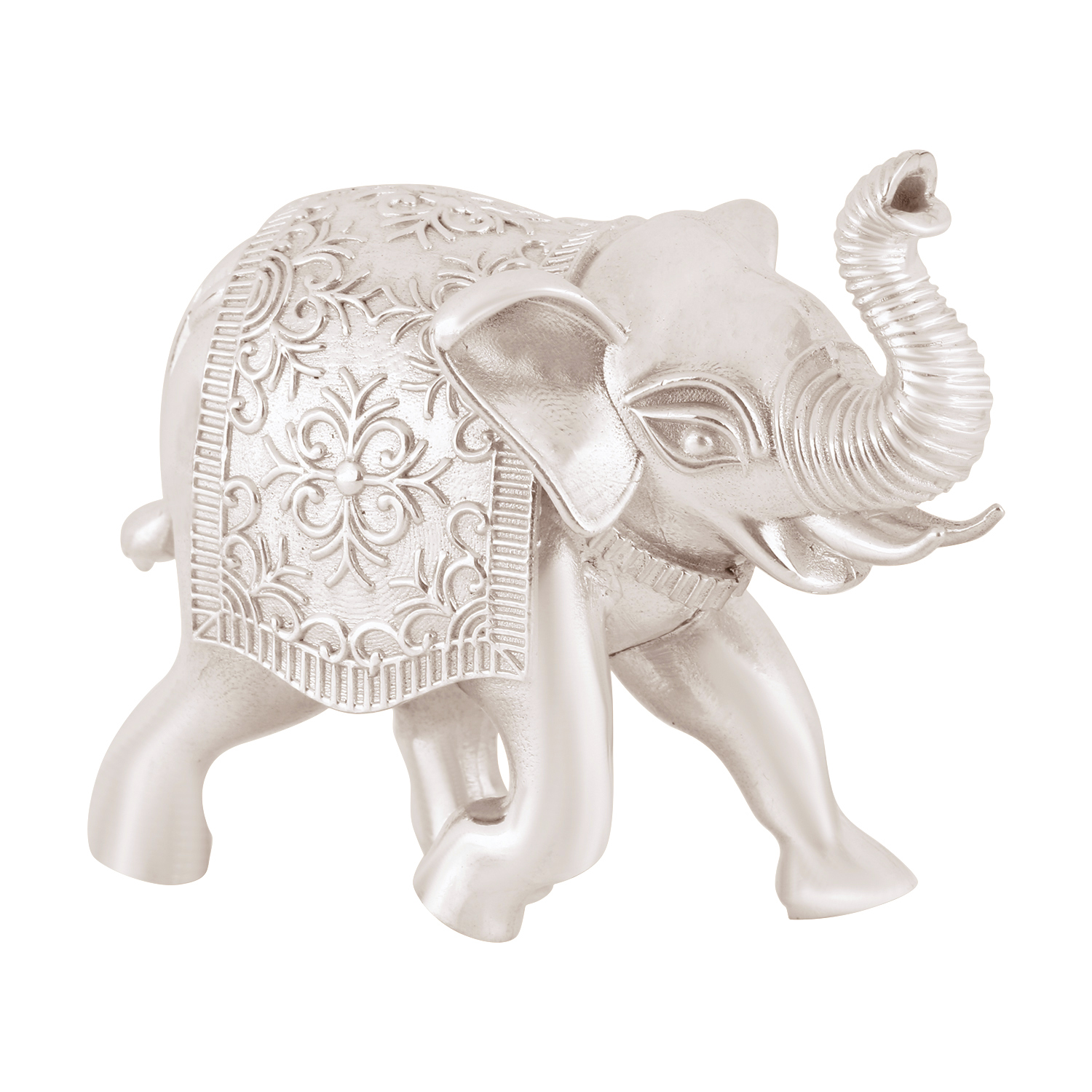 Elephant Statue in Silver by Osasbazaar Main
