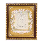 Silver Tirupati Balaji Photo Frame