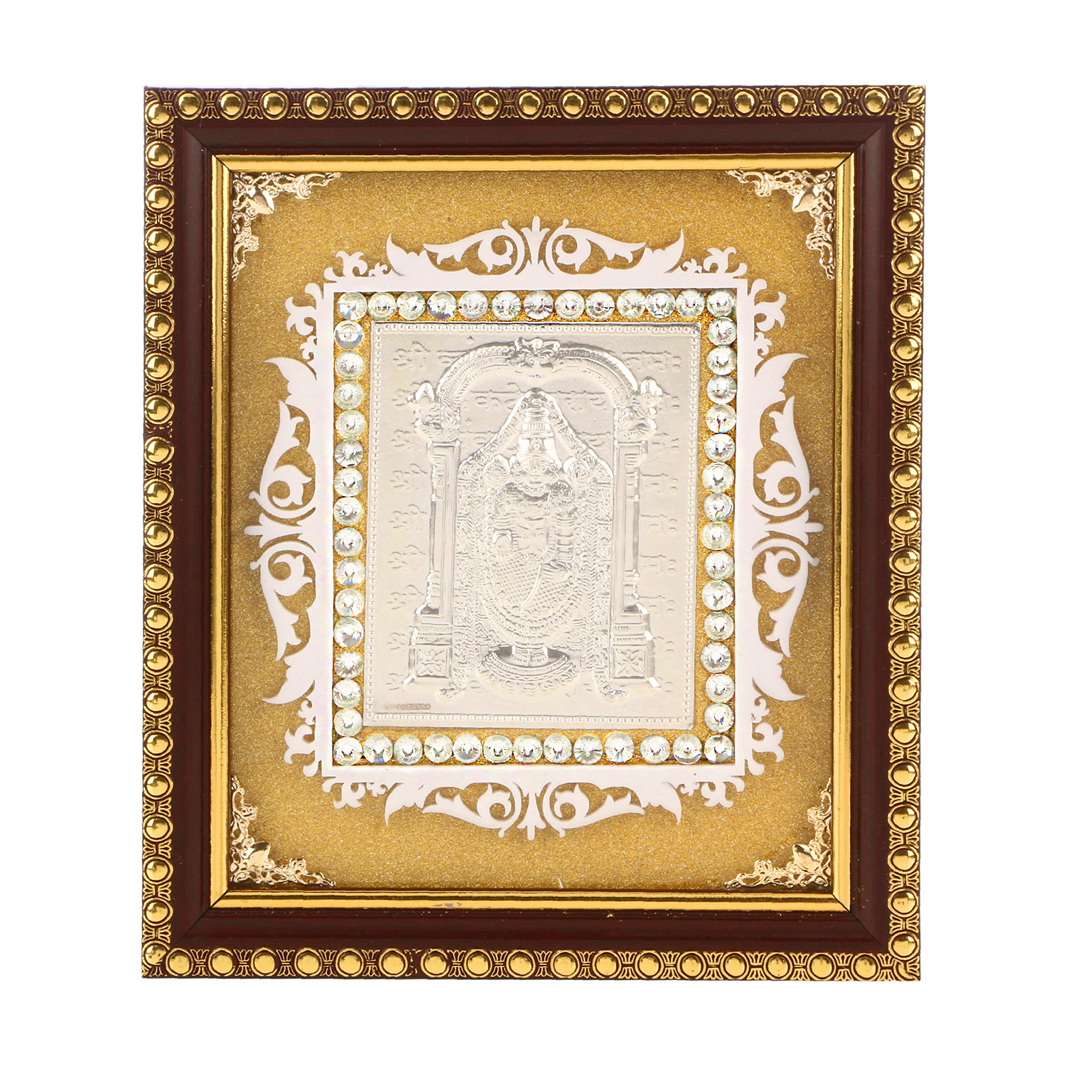 Frame Balaji in Silver by Osasbazaar Main