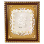 Silver Ganesh ji Photo Frame