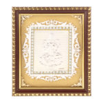 Silver Laxmi ji Photo Frame