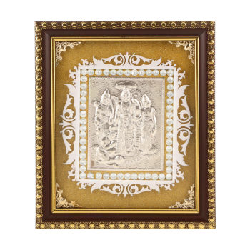 Frame Ram Darbar in Silver by Osasbazaar Main