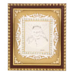 Silver Shirdi Sai Baba Photo Frame