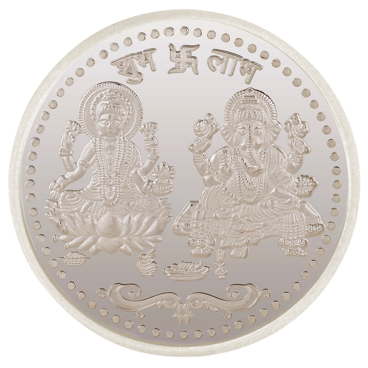 Ganesh Laxmi Coin in Silver 20gms by Osasbazaar Main
