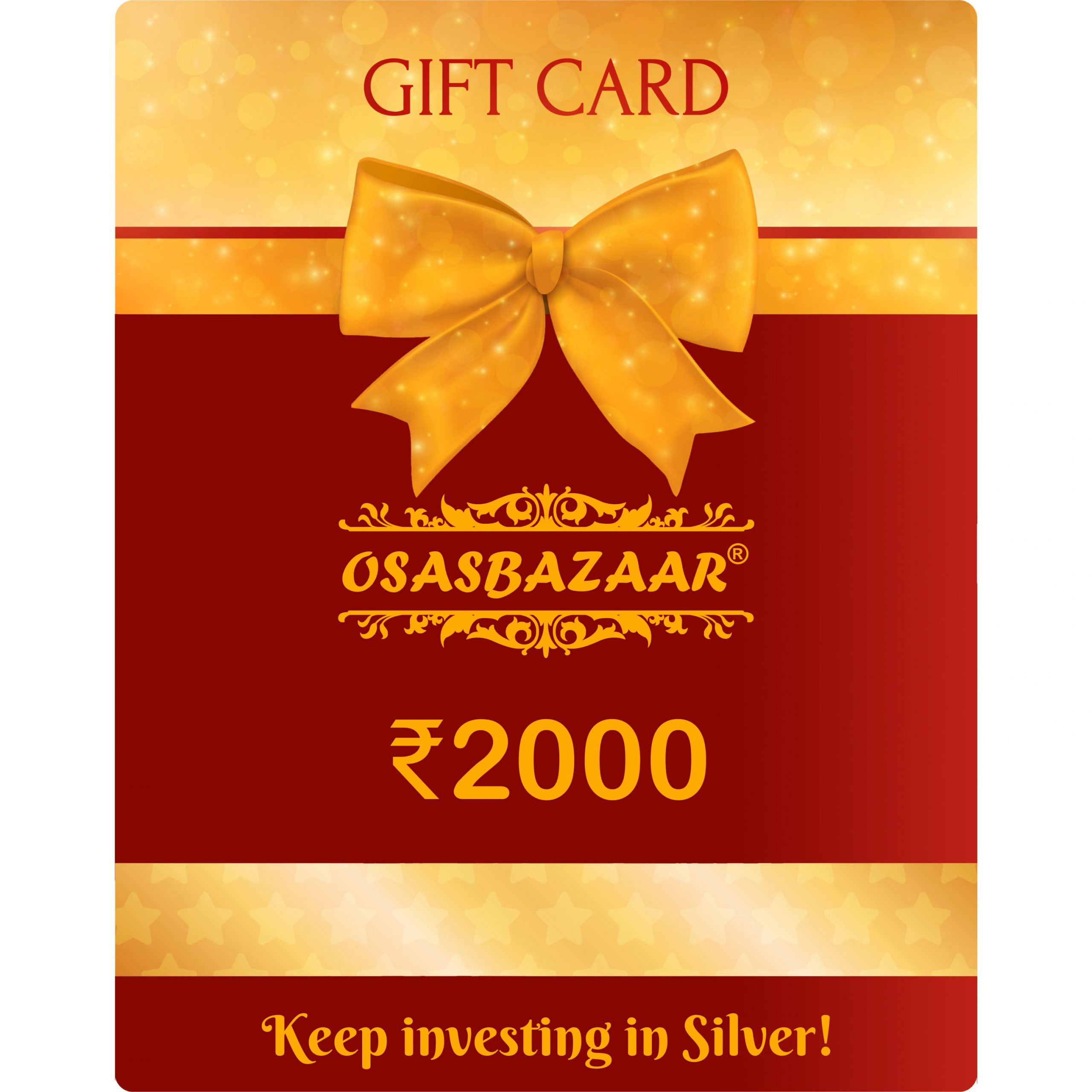 Gift Card Rs. 2000