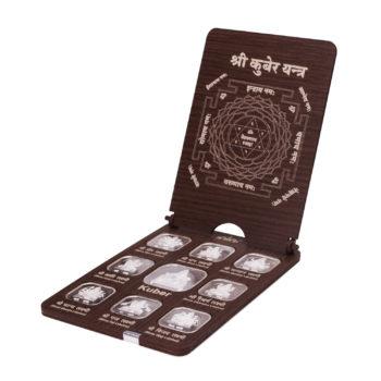 AshtaLakshmi Kuber Coins 50gms in Silver by Osasbazaar Main