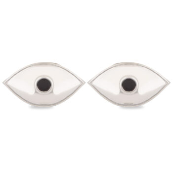 Eyes 2 pieces in Silver by Osasbazaar Main Image